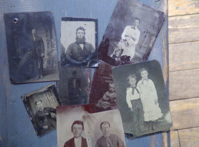 9 Tintypes of Instant Relatives