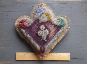 Native American Beaded Pin Cushion