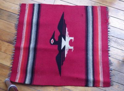 Thunderbird Saddle Blanket