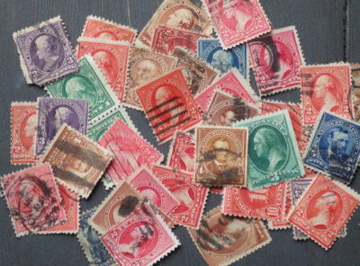 40+ Old U.S. Postage Stamps