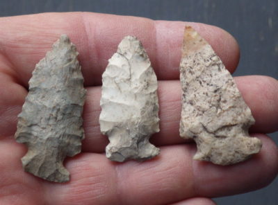Side Notched Arrowheads From 3 States