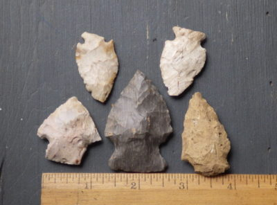 Random Group of Field Grade Arrowheads
