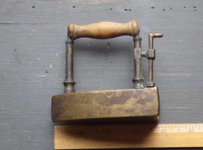 Vintage Toy Brass Iron