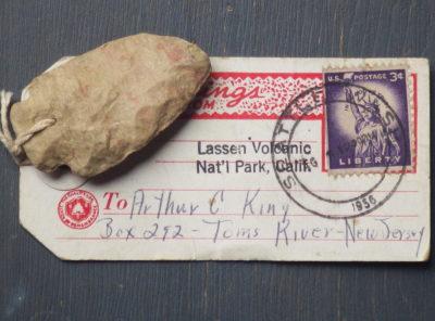 Lassen Volcanic National Park Souvenir 'Arrowhead'