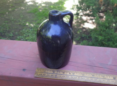 Very Old Glazed Whiskey Jug